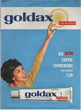 GOLDAX mit Arnika - die neue Super-Zahncreme von BLENDAX