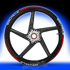 Adesivi moto MV AGUSTA BRUTALE RACING 5 stickers cerchi ruote wheels  mod.2