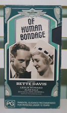 Of Human Bondage Vhs Video Bette Davis Collectors Edition