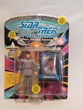 Ambassador Spock Star Trek The Next Generation Action Figure Playmates 1993 NIP