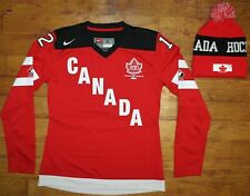 2014 Nike Team Canada Meaghan Mikkelson #12 Olympic Jersey + Hat w/ PomPom