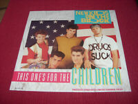 "New Kids on the Block: This ones for the children UK 12""  UNPLAYED EX SHOP STOCK"