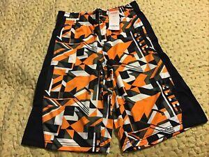 NWT Gymboree Boys CAMP MUST HAVES Blue White Knit Stripe Shorts Size L 10 12