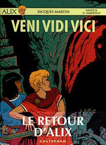 ALIX hors-série:VENI,VIDI,VICI,par David B et G.Albertini d'après Jacques MARTIN