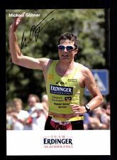 Michael Göhner Autogrammkarte Original Signiert Triathlon + A 134059