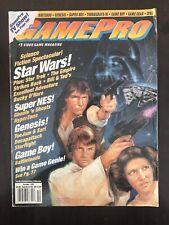 Gamepro Video Game Magazine October 1991 - Star Wars  SNES, Game Boy