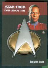 Star Trek DS9 Heroes & Villains (1 of 2) Ben Sisko Communicator Pin [ 68/120 ]