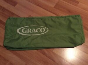 Graco Pack N Play Replacement Bag Carrying Case Travel Pack Zip up Carry Green