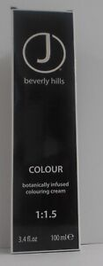 J BEVERLY HILLS Professional Cosmetic Hair Colour Cream 3.4 fl up ~Levels 7 & Up