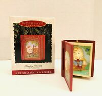 1993 Hallmark Humpty Dumpty Mother Goose Christmas Ornament In Box
