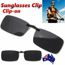 Driving Day Night Vision Polarized UV 400 Lens Clip-on Glasses Myopia Sunglasses