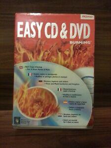 Roxio Easy CD & DVD + Blu-Ray Burning Software PC NEU DE/ES/IT/FR/UK