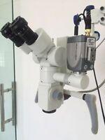 5 Step - Dental Wall Mount Microscope - Wd Beam Splitter & CCD Camera- SILVER