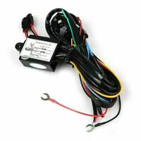 DRL Daytime Running LED Light Relay Harness Control On Off Dimmer Car Lights