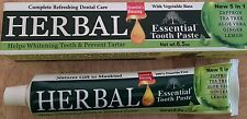 Herbal Essential Toothpaste 100% Fluoride Free (Free Shipping) Buy 3 Get 1 Free