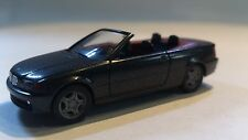 * Herpa Car 032933 BMW 3er Convertible Dark Grey 1:87 HO