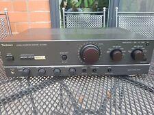 Technics SU-VX 620 HiFi Stereo Vollverstärker , 4 x 90W /4 Ohm , schwarz , Top ,
