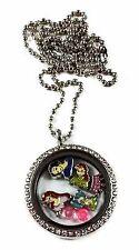 Disney Princess Living Memory Necklace Ariel, Belle, Snow White, Cinderella