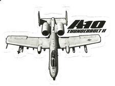 A-10 WARTHOG THUNDERBOLT JET AIRPLANE  Sticker