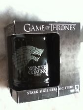 Game of Thrones Stark Sigil Ceramic Winter is Coming Stein