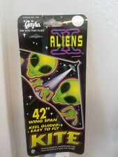 Authentic Gayla Aliens Kite With 200 feet of Gayla String