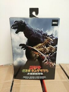 Godzilla Giant Monsters All-Out Attack/Atomic Blast Godzilla,Mothra,KingGhidorah