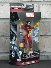 """SPIDER WOMAN Marvel Legends Avengers Age Of Ultron 6"""" Action Figure BAF Thanos"""