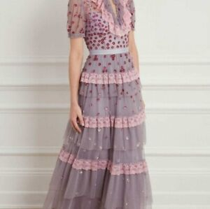 BHLDN Needle & Thread Dress Gown fits size US 2 $781