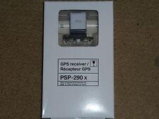 SONY PLAYSTATION PSP & SLIM oficial GPS receptor Addon Adaptador PSP-290 Sat Nav