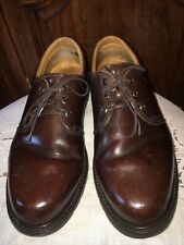 Havana Joe Brown Leather Oxford Shoes Size 48 / US 14
