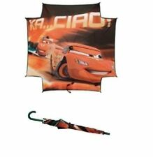 [Disney] Pixar Cars Lightning McQueen Childrens Deluxe Rain Umbrella