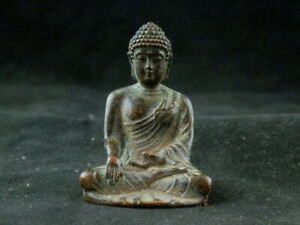 Special Tibetan Brass Hand Made *Amitabha Buddha* Statue Z093