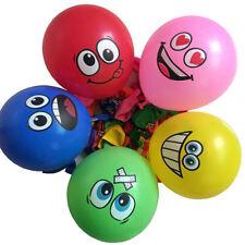 10pcs 12inch Emoji Smiling Face Latex Balloon Wedding Party Birthday Kids Gift