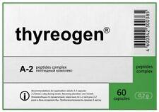 A-2 Thyreogen Khavinson Natural Thyroid Peptide Bioregulator 60 capsules