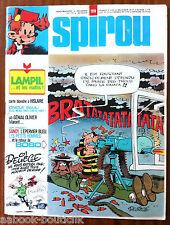 b)SPIROU N°1918 Avec le Poster/ L'épervier Bleu