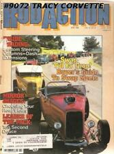 April 1988 Rod Action 1934 Chrysler four-door sedan 33 Willys Knight My 37 Chevy