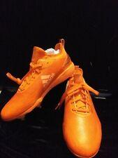 Adidas Adizero Afterburner V Dipp Orange Cleats Size 9 (display model)