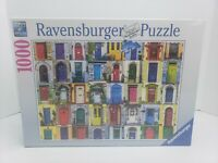 "Ravensburger Doors of the World 1000 Piece Puzzle 27x20"" Brand New SEALED"