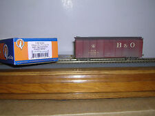 """FOX VALLEY  Baltimore & Ohio """"Capitol Dome"""" R.R.Box Car #380547 Weathered 1/87"""