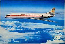 Cartolina Aviazione - Aereo In Volo Caravelle X-R Linee Iberia - Non Viaggiata