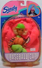 Hasbro 1996 Sindy Baseball Cap Doll European Version Mosc Rare Vhtf