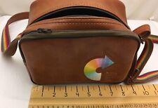 Vintage Kodak Instant Camera Bag Rainbow Strap Shoulder Strap Brown Retro