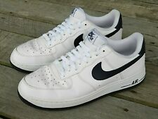 Nike Air Force 1 Men's 11.5 US 488298-105 White & Navy 2015 Very Clean Kicks