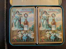 Vintage/Rare Budweiser Playing Cards in Tin