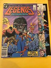 Legends #1 #2 & #5 1986 High Grade Key Issue