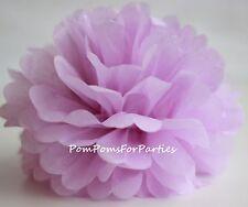 Papier Pom-pons Seidenpapier Pom Geburtstag Hochzeitsdeko - LILA - Lilac