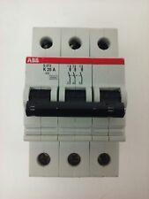Abb, S273-K20A, Circuit Breaker, 3P, 277/480Vac, 10Ka, 20A, Vde0660, New Surplus
