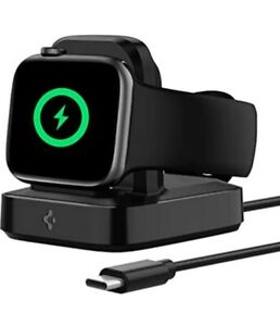 Spigen ArcField Wireless charger stand for apple watch MFi Certified
