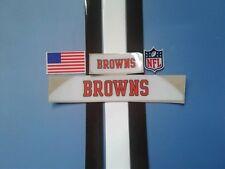 Browns football helmet decals set