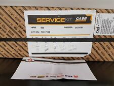 Case 500 hour service kit CX130B - CX350D machines 73317158